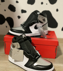 Nike Air Jordan 1 High Silver Toe