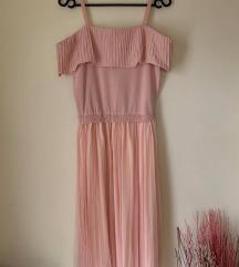 NOVA roza obleka