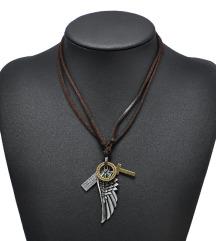 Ogrlice angelska krila in simboli