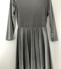 Siva, srebrna oblekica