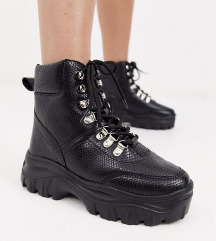 Truffle collection chunky boots
