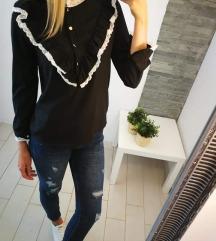 Ženska bluza z čipko