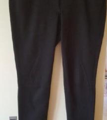 dolge črne hlače h&m