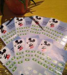 Zbirate nalepke Disney - OMV