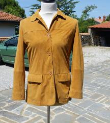 BOSCARO št. 40 jakna semiš (Italija)