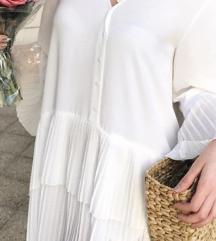 Zara tunika / bela obleka
