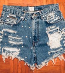 Calvin Klein kratke hlače high waist M