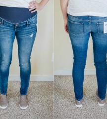 H&M nosečniške jeans  m