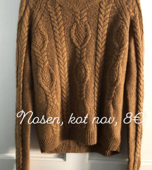PRODAM rjav pulover