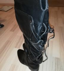 Škornji nad koleni 38