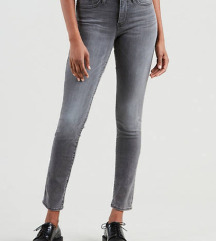 H&m sive jeans hlače
