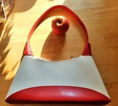Rdečebela torbica