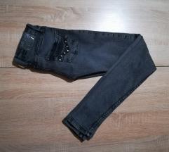 Temno sive skinny jeans
