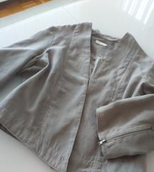 COSTES jaknca kot brušeno usnje zadrge