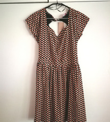NOVA  obleka, velikost 38/40 (vintage, swing look)