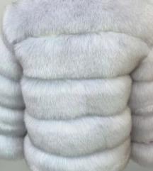Krznena jakna-umetno krzno