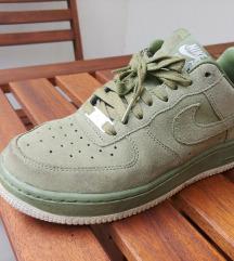 Semiš zelene original Nike superge - unikat 37,5