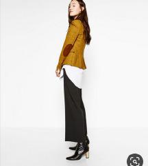 Zara NOV patched elbows blazer
