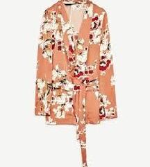 Nov Zara rožast blazer suknjič