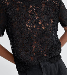 Zara lace top