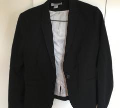 črn suknjič H&M