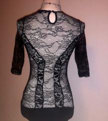 NOV sex lace črni body , bodysuit Tally W.  S