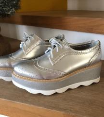 Oxford čevlji s platformo