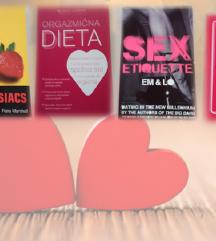 LJUBEZEN IN SPOLNOST ■komplet 4 knjig za 35€
