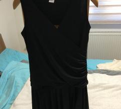 Mura črna poletna oblekica XL