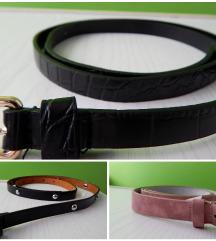 2x pas (črni in roza)