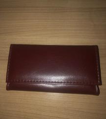 NOVA bordo usnjena denarnica