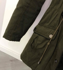 Olivno zelena jakna