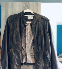 Kostanjevo rjava jakna