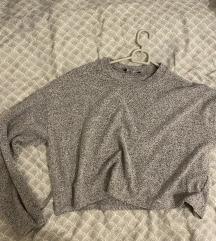 Siv pulover Bershka