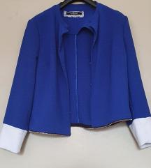 Modra elegantna jopa/blazer