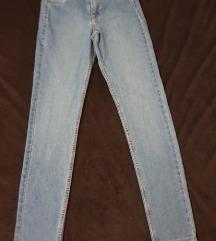 H&M svetle jeans hlače - NOVO