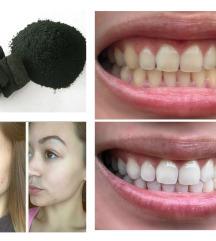 AKCIJA! Novo organsko oglje za nego zob in kože