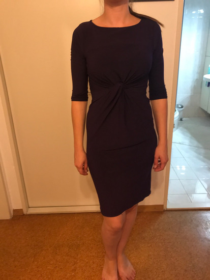 dorothy perkins vijolična obleka
