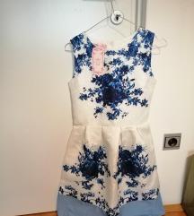 Bela obleka z Japonske NOVA z etiketo