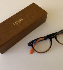 Očala TOMS Lula Brown Fade Burnt Orange