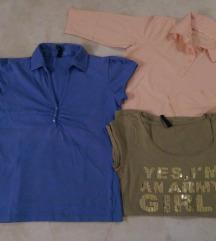 Različne majice