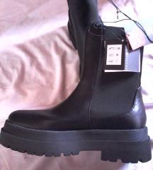 novi chunky boots,platforme črne,39