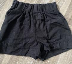 Lahke kratke hlače visok pas