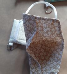 Zaščitna maska s torbico za masko