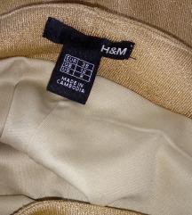 UGODNO !! zlata H&M oblekica