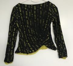 Originalna Versace črno zelena majica