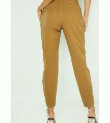 Kaki 90's high waist kavbojke jeans denim XXS