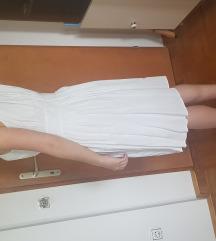 Bela poletna obleka Zara