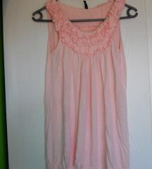 Roza majica/tunika