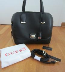 Nova črna torbica GUESS + darilo